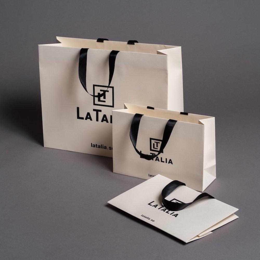 LUXURY UNLAMINATED PAPER BAG