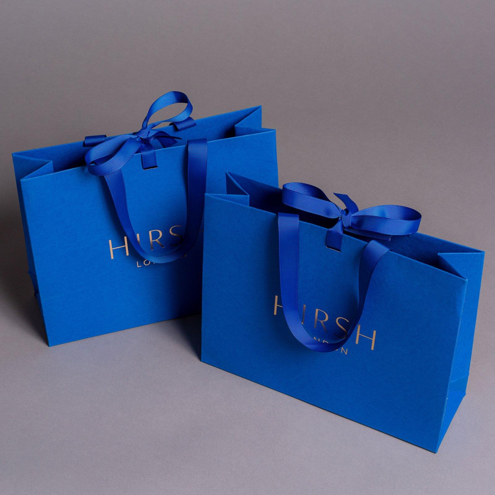 Luxury Ribbon Handle Paper Bags