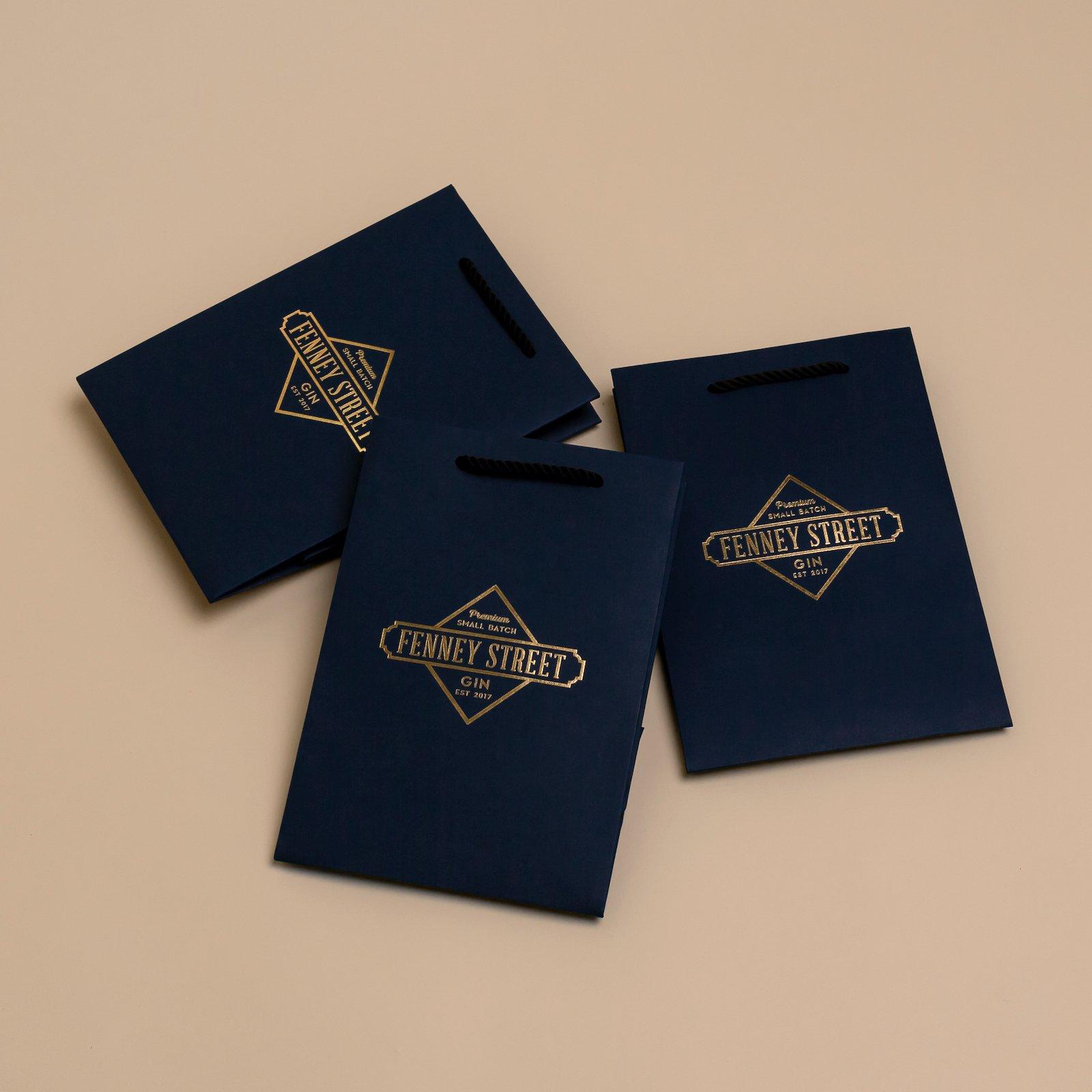 Luxury Rope Handle Unlaminated Paper Bags