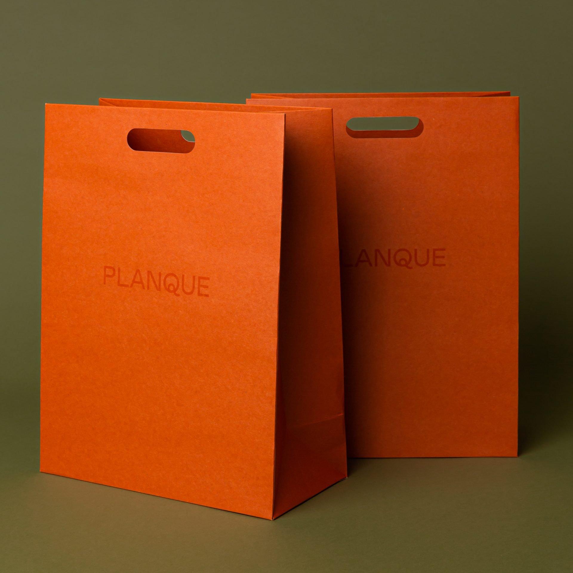 Printed Kraft Paper Bags