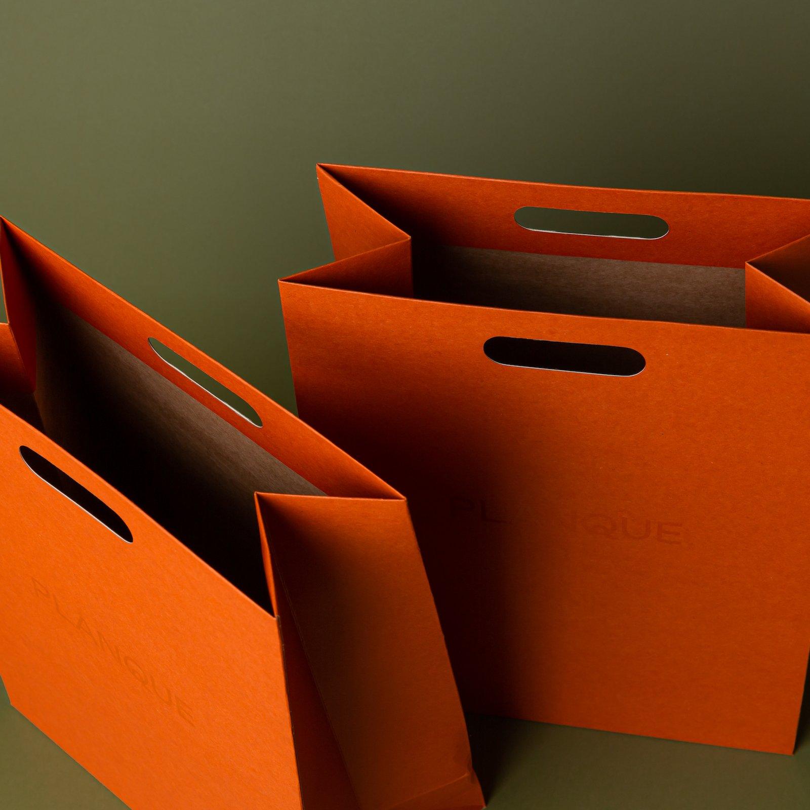 Printed Luxury Kraft Paper Bags