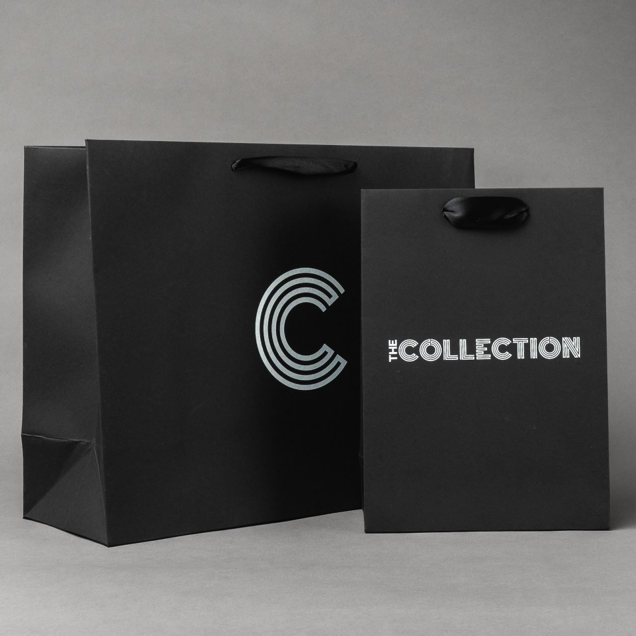 Ribbon Handle Recycled Paper Bags